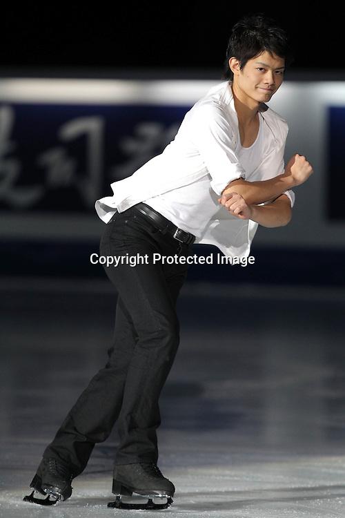 &not;&rsquo;&Euml;&rsquo;&bull;F/Takahiko Kozuka (JPN), <br /> DECEMBER 12, 2010 - Figure Skating : <br /> ISU Grand Prix of Figure Skating Final 2010/2011 <br /> Exhibition <br /> at Capital Indoor Stadium, Beijing, China. <br /> (Photo by Akihiro Sugimoto/AFLO SPORT) [1080]