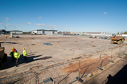 A ground-breaking ceremony to mark St. Modwen, the UK&rsquo;s leading regeneration specialist's first phase of a major new 250,000 sq ft commercial development at Parkside Business Park in Doncaster <br /> <br /> 07 March 2016<br />  Copyright Paul David Drabble<br />  www.pauldaviddrabble.co.uk