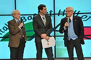 MILANO 9 FEBBRAIO 2013<br /> FIP HALL OF FAME<br /> NELLA FOTO valerio bianchini, dan peterson<br /> FOTO CIAMILLO