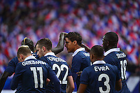 Joie Raphael VARANE - 26.03.2015 - France / Bresil - Match Amical<br />