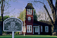 Old Ballard School house, est. 1882, Ballard, Santa Barbara County, California