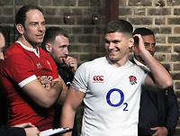 Rugby Union - 2020 Guinness Six Nations Launch Press Conference - Tobacco Dock, London<br /> <br /> Captain 's Owen Farrell of England and Alun Wyn Jones of Wales <br /> <br /> COLORSPORT/ANDREW COWIE