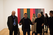 BARRY MARTIN; BRUCE MACLEAN, Opening of an exhibition of works by Anthony Caro, John Hoyland and Kenneth Noland. Pace, Burlington Gardens. London. 18 November 2015