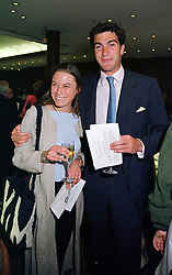 MISS JESSICA CRAIG and MR EDWARD VAN CUTSEM son of Hugh Van Cutsem a friend of The Prince of Wales, at a party in London on 27th May 1999.<br /> MSO 13<br /> PUBLICATION FEE MUST BE AGREED PRIOR TO USE<br /> © Desmond O'Neill Features:- + 44 (0) 7092 235465<br /> www.donfeatures.com   info@donfeatures.com
