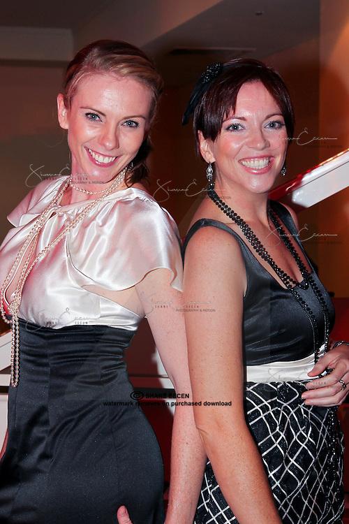 VanessaSouthwick & Lisa Carusi. Cancer Council Ball 2011. Photo Shane Eecen