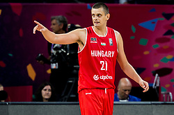 Kemal Karahodzic of Hungary reacts during basketball match between National Teams of Serbia and Hungary at Day 11 in Round of 16 of the FIBA EuroBasket 2017 at Sinan Erdem Dome in Istanbul, Turkey on September 10, 2017. Photo by Vid Ponikvar / Sportida