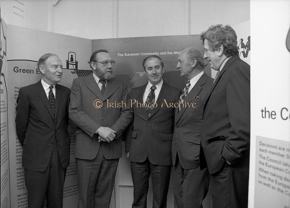 Roadshow EEC 03/07/1978  Roadshow EEC 03/07/1978 Liam Cosgrave, Frank Cluskey, Dick Burke, Jack Lynch, Garath Fitzgerald,