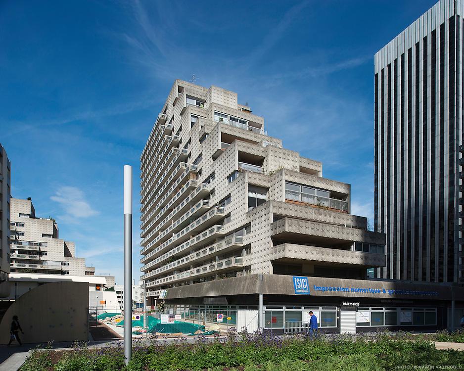 Quartier des Damiers, Courbevoie, La Défense, 2012.