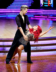 Joe Sugg and Dianne Buswell pose for photographers during a photocall before the opening night of the Strictly Come Dancing Tour 2019 at the Arena Birmingham, in Birmingham. Picture date: Thursday January 17, 2019. Photo credit should read: Aaron Chown/PA Wire