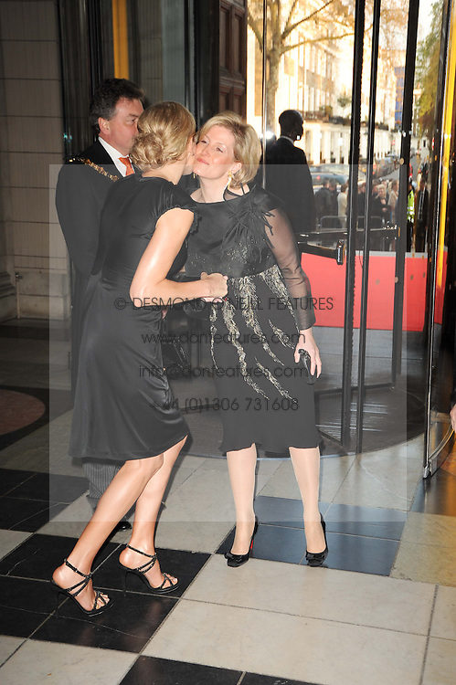 Left to right, CHARLENE WITTSTOCK and HRH The COUNTESS OF WESSEX and  at the opening of the Victoria & Albert Museum's latest exhibition 'Grace Kelly: Style Icon' opened by His Serene Highness Prince Albert of Monaco at the V&A on 15th April 2010.