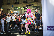 Gay Pride of Paris (marche de la fierté) 2015. From jardin du Luxemburg to Place de la Bastille. 27.06.2015