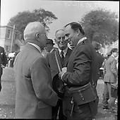 1959 – 13/05 Prince Aly Khan and Bettina at the Curragh Races