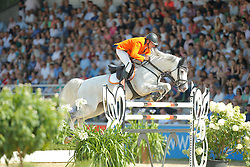 Zoer Albert, (NED)<br /> CSIO Nations Cup - Mannheim 2015<br /> © Hippo Foto - Stefan Lafrentz