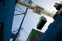 Limassol Cyprus dockside crane