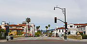 State Street Seen From the Start of Stearns Wharf