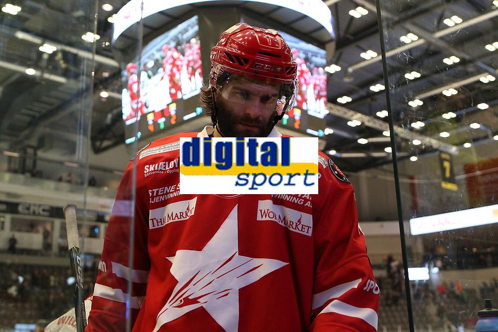 GET-ligaen Ice Hockey, 27. october 2016 ,  Stavanger Oilers v Stjernen<br />Lasse Fjeldstad fra Stjernen etter kampen mot Stavanger Oilers<br />Foto: Andrew Halseid Budd , Digitalsport
