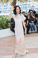 "CANNES, FRANCE - MAY 20:  Naomi Kawase attends the ""Still The Water"" photocall at the 67th Annual Cannes Film Festival on May 20, 2014 in Cannes, France.  (Photo by Tony Barson/FilmMagic)"