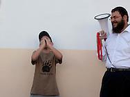 Morocco, Casablanca - jewish girls school, lubavitch.  sholl Ohale yossef ytshak oufaratsta.  /  ecole de filles , juif loubavitch, casablanca, maroc