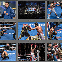 Philippine boxing legend Manny Pacquiao defeated Argentine Lucas Matthysse in the seventh round, winning the World Boxing Association's welterweight title, 15 July 2018 in Kuala Lumpur, Malaysia.