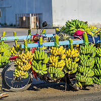 Jan 4, 2013 - Goods of all sorts are transported by two wheels. Here bananas make their way to market in the Cambodian capital city of Phnom Penh.<br /> <br /> Story Summary: Amidst the feverish pace of Phnom Penh&rsquo; city streets, a workhorse of transportation for people and goods emerges: Bicycles, motorcycles, scooters, Mopeds, motodups and Tuk Tuks roam in place of cars and trucks. Almost 90 percent of the vehicles roaming the Cambodian capital of almost 2.3 million people choose these for getting about. Congestion and environment both benefit from the small size and small engines. Business is booming in the movement of goods and and another one million annual tourists in Cambodia&rsquo;s moto culture.