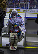 KELOWNA, CANADA - NOVEMBER 14:  Pepsi Player of the Game at the Kelowna Rockets game on November 14, 2017 at Prospera Place in Kelowna, British Columbia, Canada.  (Photo By Cindy Rogers/Nyasa Photography,  *** Local Caption ***