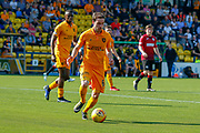 Scott Pittman of Livingstone during the Ladbrokes Scottish Premiership match between Livingston and St Mirren at Tony Macaroni Arena, Livingstone, Scotland on 20 April 2019.