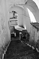 Castro Marina - Salento - Puglia - Scalinata privata di un'abitazione.