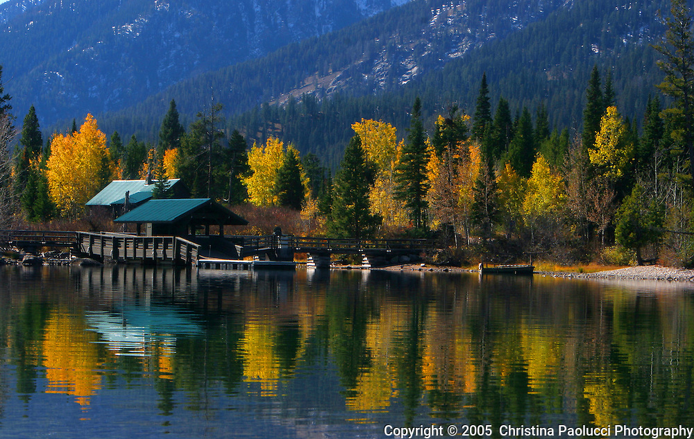 The Grand Tetons in Wyoming in October,2005. (Christina Paolucci, photographer)