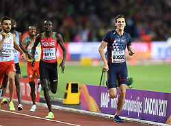 August 8, 2017 - London, England, United Kingdom - Pierre-Ambroise BOSSE, France, during 800 meter finals in London at the 2017 IAAF World Championships athletics on August 8, 2017. (Credit Image: © Ulrik Pedersen/NurPhoto via ZUMA Press)