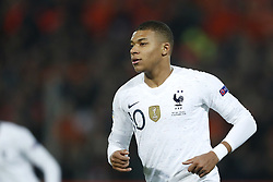 Kylian Mbappe of France during the UEFA Nations League A group 1 qualifying match between The Netherlands and France at stadium De Kuip on November 16, 2018 in Rotterdam, The Netherlands