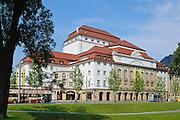 Schauspielhaus, Dresden, Sachsen, Deutschland.|.Theatre, Dresden, Germany