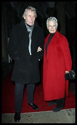 Dame Judi Dench and family  arriving for the opening night party of the Somerset House ice rink in London, Monday, 21st November 2011   Photo by: Stephen Lock / i-Images