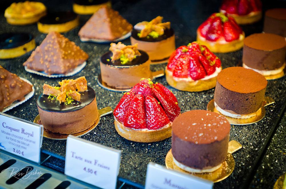 Pastries, Paris, France