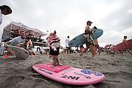 Surf Dog Surf-a-thon in Del Mar's Dog Beach.
