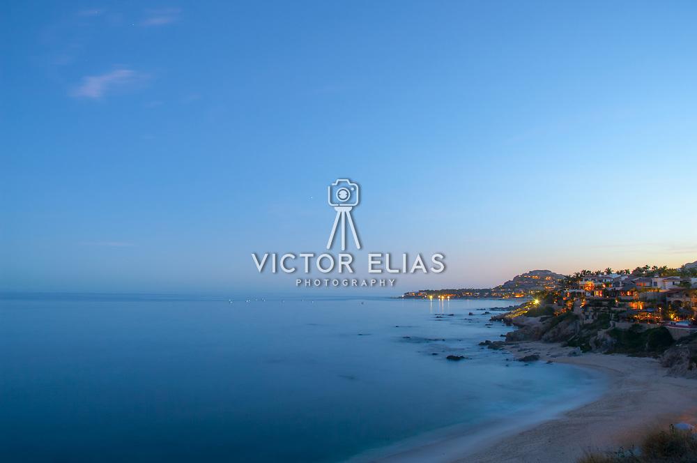 Playa Palmilla at night. San Jose del Cabo