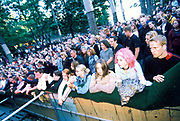 A large crowd at the Quart festival, Kristiansands Norway 2000