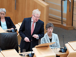 First Minister's Questions in the Scottish Parliament<br /> <br /> Thursday, 19th September 2019<br /> <br /> Pictured: Scottish Conservative interim leader Jackson Carlaw MSP and Liz Smith MSP<br /> <br /> Alex Todd | Edinburgh Elite media