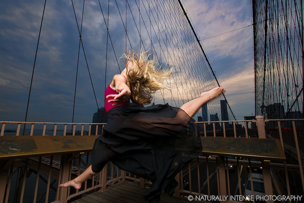 Kylie Levine. Brooklyn Bridge. Dance As Art- The New York Photography Project