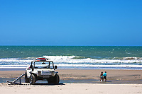 buggy tour and prainha beach near fortaleza in ceara state in brazil