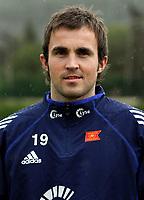 Fotball<br /> La Manga - Spania<br /> 27.02.2005<br /> Portretter Viking<br /> Foto: Morten Olsen, Digitalsport<br /> <br /> Trygve Nygaard