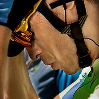 Frankrijk, Montauban, 07-07-2016<br /> Wielrennen, Tour de France, 6e etappe.<br /> Van Arjapon-Sur-Cere naar Montauban.<br /> Alberto Contador voor de start van de etappe.<br /> Foto: Klaas Jan van der Weij