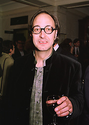 Actor TONY ROBINSON at a party in London on 23rd March 1998.MGI 21