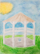 end results of the Abita Springs Trailhead Museum Summer Art Camp