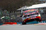 Scott McLaughlin in the Shell V-Power Racing Team Ford Falcon during Friday practice at The 2018 Vodafone Supercar Gold Coast 600 in Queensland.