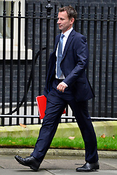 © Licensed to London News Pictures. 23/10/2012. Westminster, UK Health Secretary Jeremy Hunt. Ministers attend a Cabinet Meeting in 10 Downing Street today 23 October 2012. Photo credit : Stephen Simpson/LNP