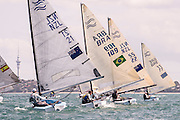 Finn Gold Cup 2015, Takapuna, Auckland New Zealand. 26/11/2015