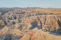 Big Badlands Overlook. Badlands National Park South Dakota