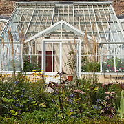 Glasshouse, walled garden, Fulham Palace