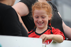 BAWFC fan - Photo mandatory by-line: Dougie Allward/JMP - Mobile: 07966 386802 - 28/09/2014 - SPORT - Women's Football - Bristol - SGS Wise Campus - Bristol Academy Women's v Manchester City Women's - Women's Super League