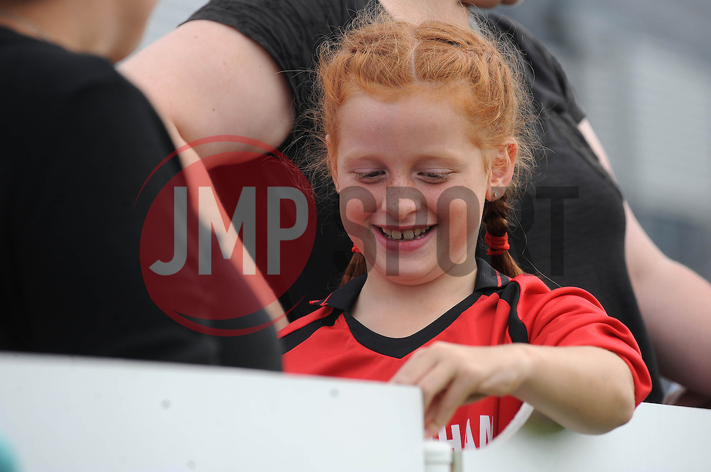 BAWFC fan - Photo mandatory by-line: Dougie Allward/JMP - Mobile: 07966 386802 - 28/09/2014 - SPORT - Women's Football - Bristol - SGS Wise Campus - Bristol Academy Women's v Manchester City Women's - Women's Super League